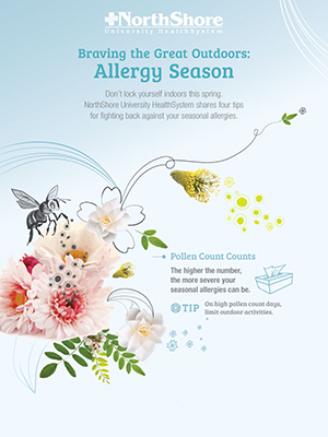 Outdoor Allergy Infographic