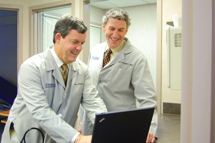 Dr. Wes Fisher and Dr. Mark Lampert