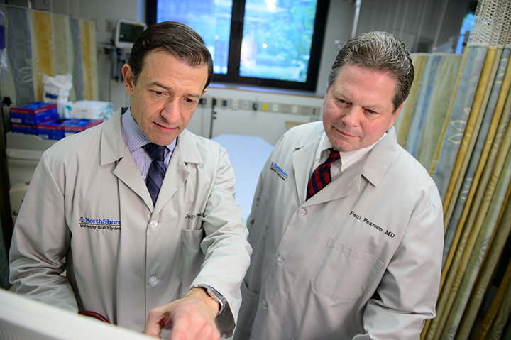 Dr. Paul Pearson and Dr. Jorge Saucedo