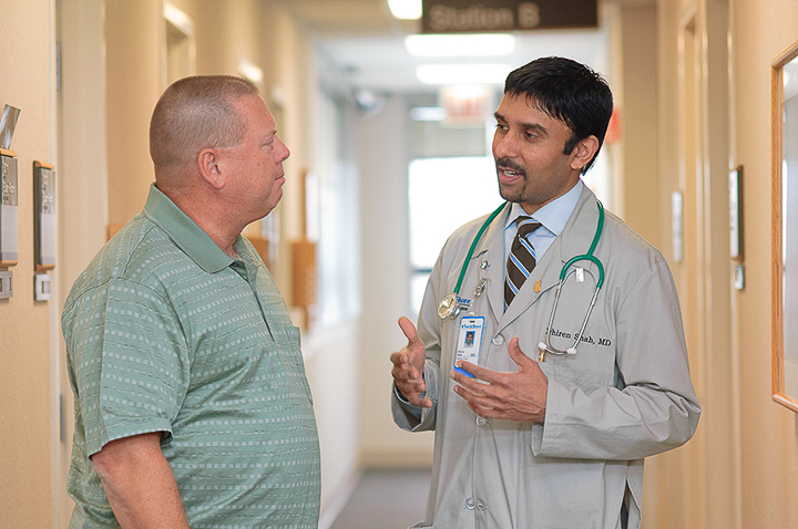 Dr. Shah and Patient