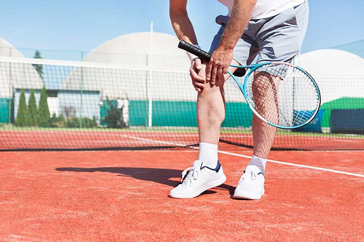 Tennis joint pain