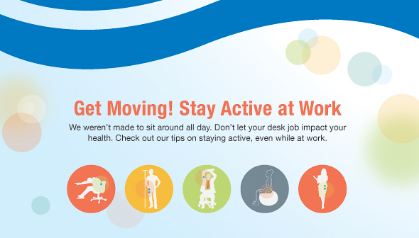 Get moving infographic