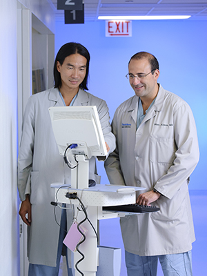 Dr. Hahn and Dr. Alonzo
